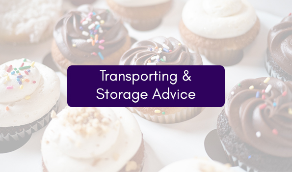 Transporting and storing your cake