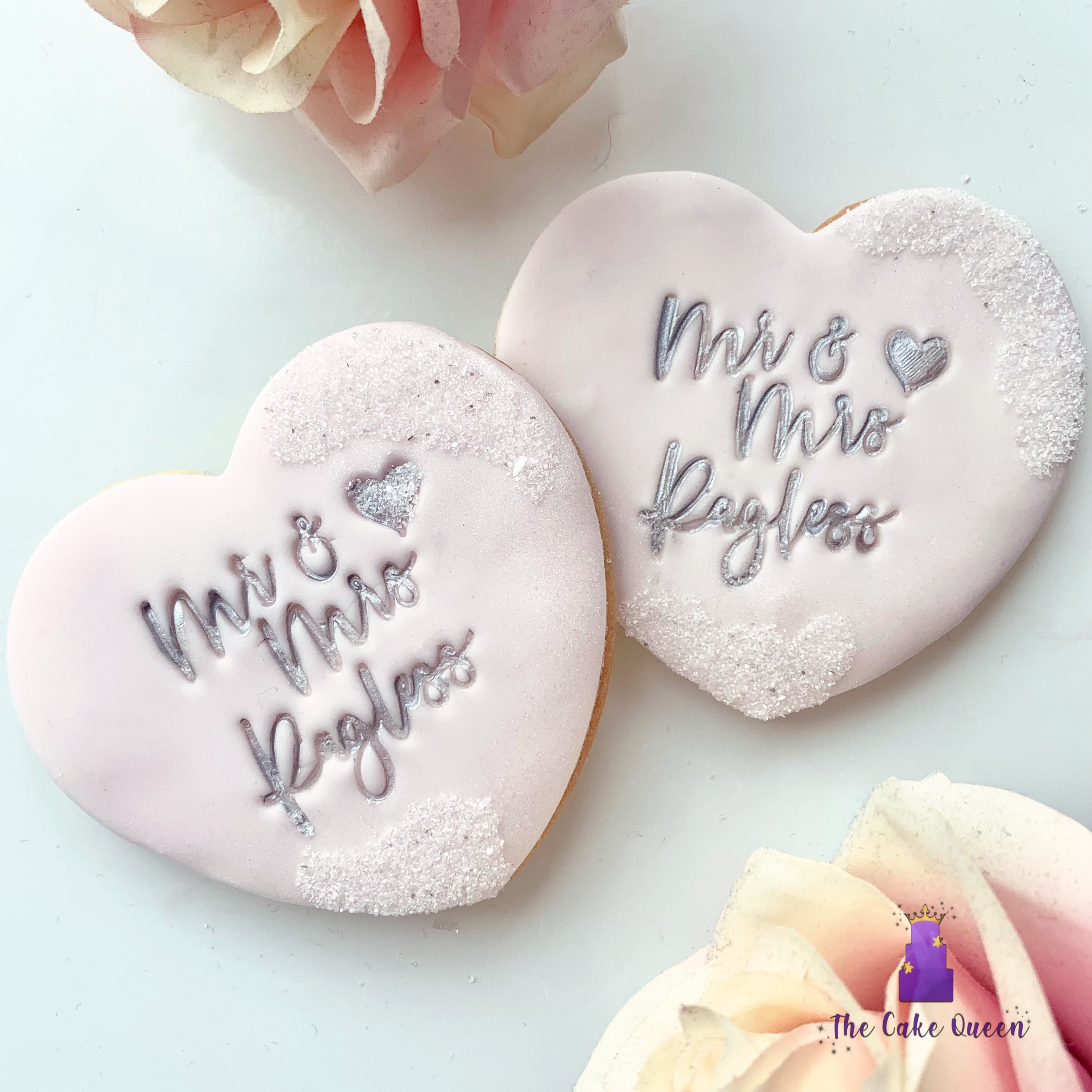 personalised wedding favour biscuits